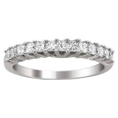3/4 CT.T.W. Diamond Band Ring in 14K White Gold - In Assorted Sizes