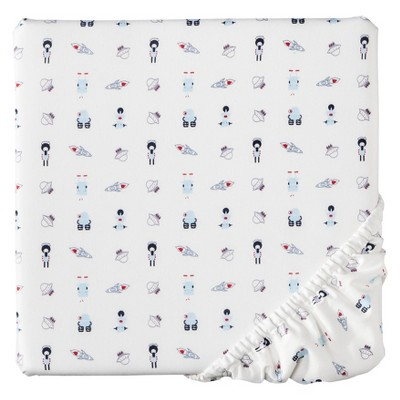 Babyletto Galaxy Mini Crib Fitted Sheet