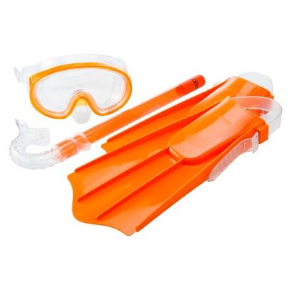 Speedo Kids' Discovery Mask, Snorkel & Fin Set