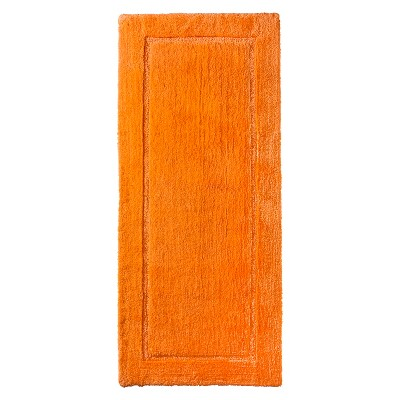 Threshold™ Botanic Fiber Bath Rug - Orange Truffle (24x54)