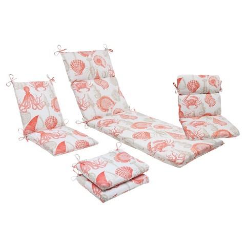 Outdoor Bench Cushion - Sealife