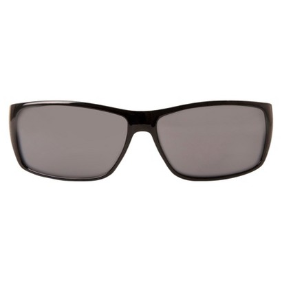 Dickies® Rectangle Sunglasses with Wide Temples - Black