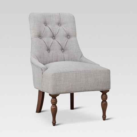 Threshold™ Tufted English Chair - Gray