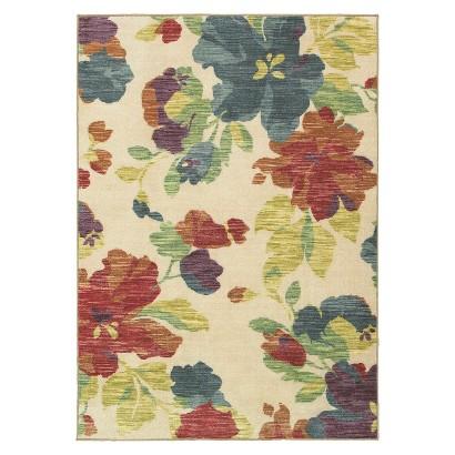 Shaw Living® Floral Rug
