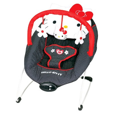 Baby Trend Ez Bouncer - Hello Kitty Classic Dot