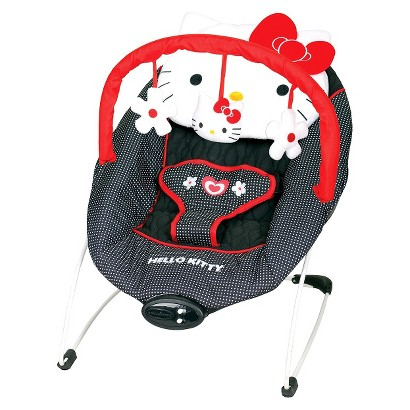 Baby Trend EZ Bouncer - Hello Kitty Classic Dot
