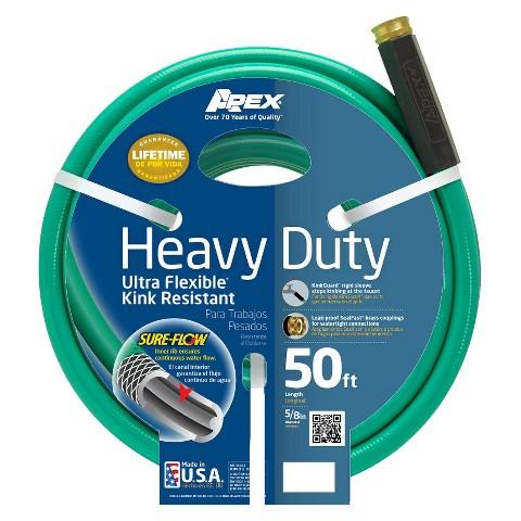 Apex Heavy Duty Ultra Flexible Garden Hose