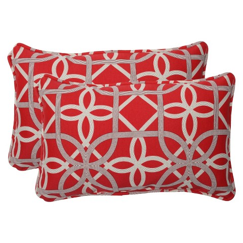 Outdoor 2-Piece Lumbar Throw Pillow Set - Keene : Target
