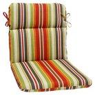 Pillow Perfect™ Outdoor Round Edge Full Seat Cushion - Roxen Stripe