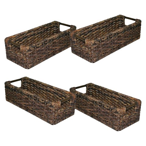 Threshold™ Global Media Decorative Basket Set of 4