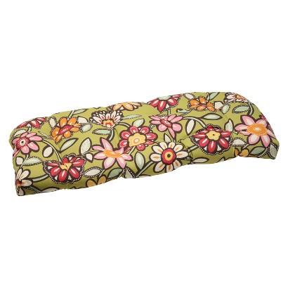 Outdoor Wicker Loveseat Cushion - Wilder
