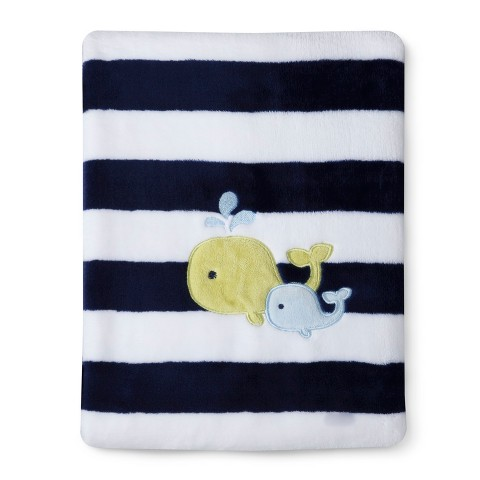 Circo® Super Soft Baby Blanket - Whales 'n Waves