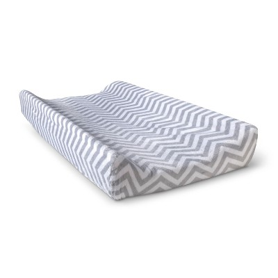 Circo™ Changing Pad Cover - Gray Chevron