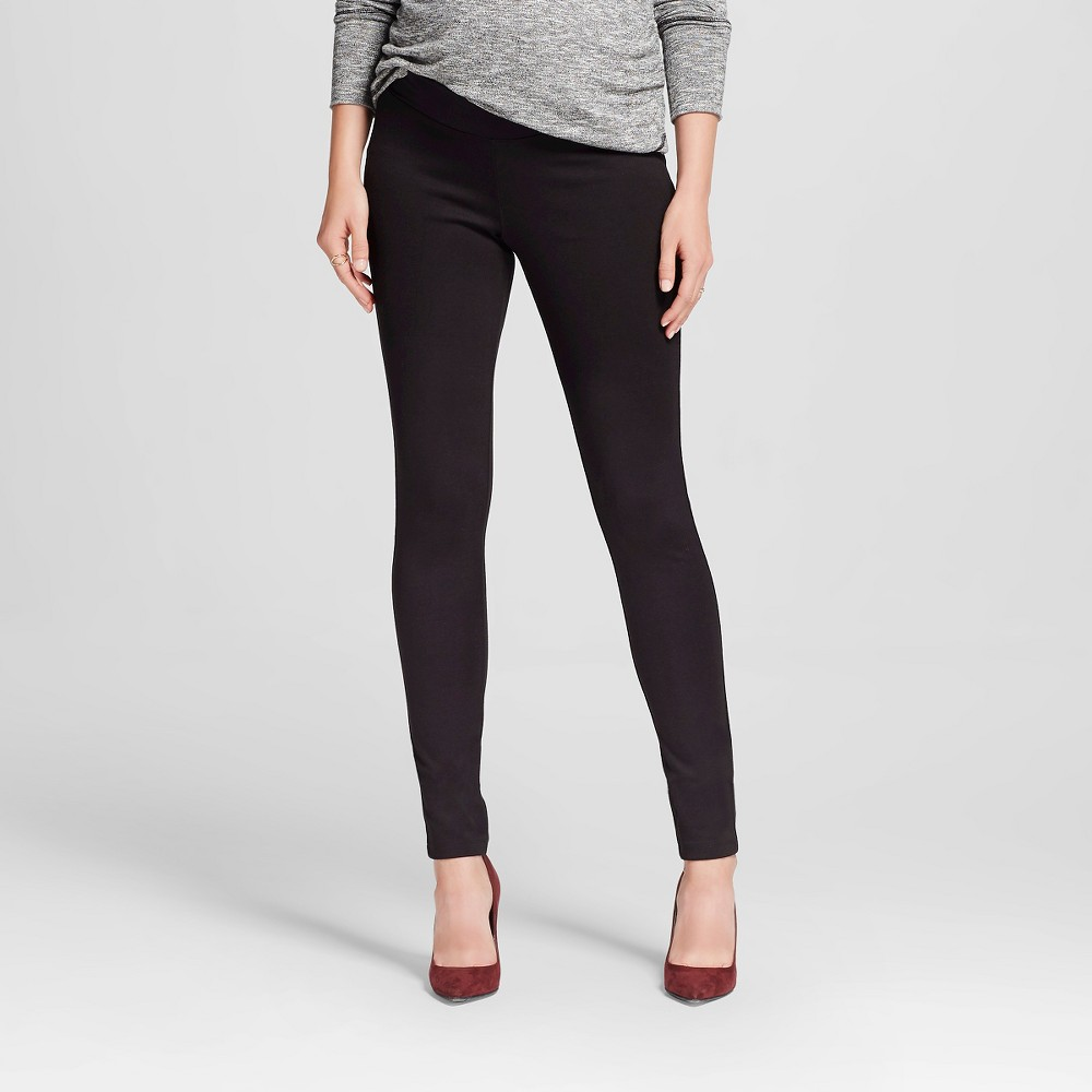 3ecf47da6217f ... Black Under UPC 490290712972 product image for Liz Lange for Target  Maternity Under-the-Belly Ponte