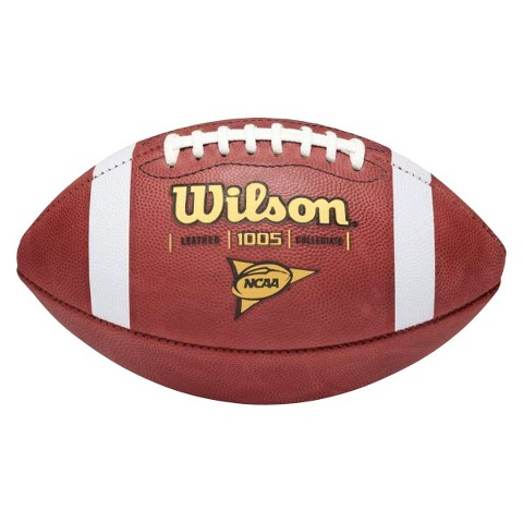 Wilson 1005 NCAA Traditional Leather Game Football