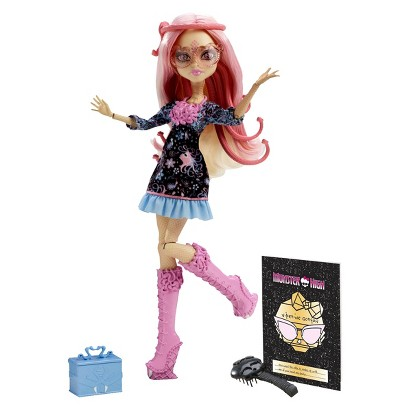 Monster High Frights Camera Action New Stars Doll Viperine Gorgon