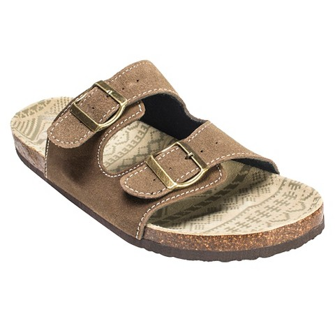Men's MUK LUKS® Parker Duo Strapped Footbed Sandals - Assorted Colors