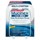 Mucinex Fast-Max Adult Cold, Flu and Sore Throat Caplets - 20 Count