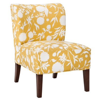 Threshold™ Scooped Back Chair - Yellow Floral