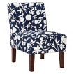 Threshold™ Slipper Chair - Navy Floral