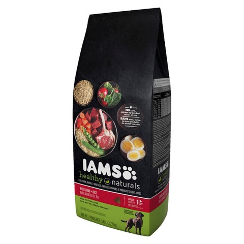 Iams Healthy Naturals Adult Dog Food - Lamb + Rice (5 lbs)