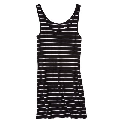 Mossimo® Women's Layering Tank - Black Stripe