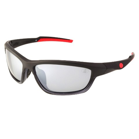 IRONMAN® Rectangle Sunglasses - Black/Red