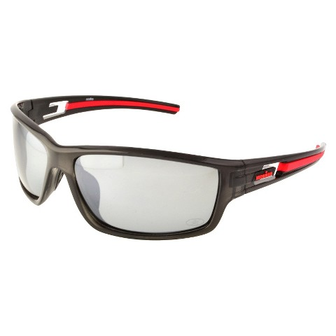IRONMAN® Rectangle Sunglasses - Black/Red