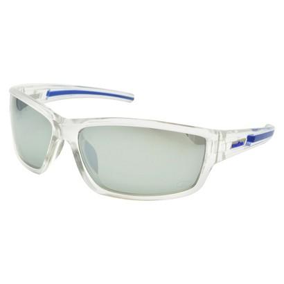 Rectangle Sunglasses - White/Blue