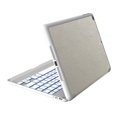 ZAGGkeys PROfolio+ Keyboard for iPad Tablets - Silver (ID5ZKF-SW0)