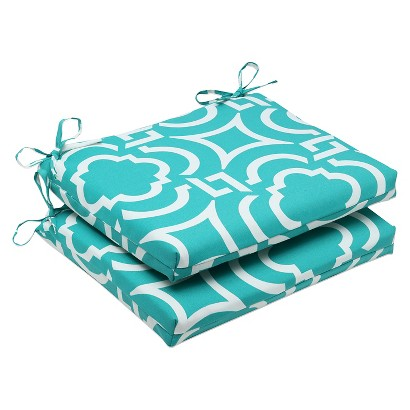 Outdoor 2-Piece Square Edge Throw Pillow Set Carmody