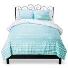 Xhilaration™ Tribal Stripe Comforter Set - Turquoise (Full/Queen)