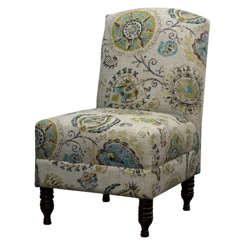 Mallory Upholstered Chair Prints - Skyline Imports