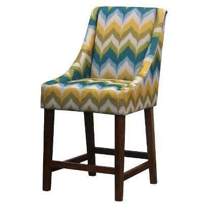 Mid Century Modern Griffin Counter Stool - ZigZag