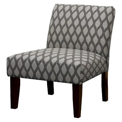 Avington Upholstered Slipper Chair Ogee Gray