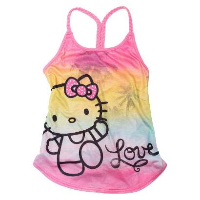 Hello Kitty™ Girls' Love Tank Top - Pink