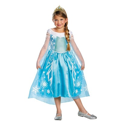 Image of Toddler/Girl's Frozen Elsa Deluxe Costume 3T-4T
