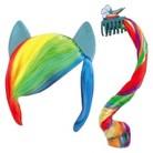My Little Pony Equestria Girls Headband & Ponytail