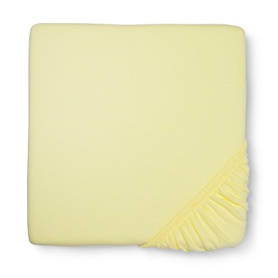 Circo™ Knit Fitted Crib Sheet - Yellow