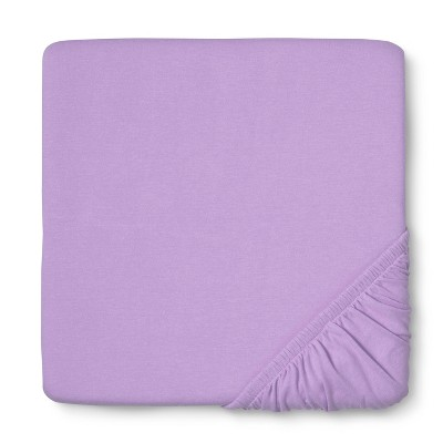Circo™ Knit Fitted Crib Sheet - Lavender