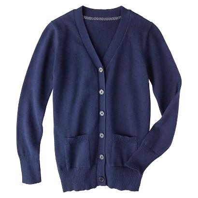 Cherokee® Girls' School Uniform Boyfriend Cardigan