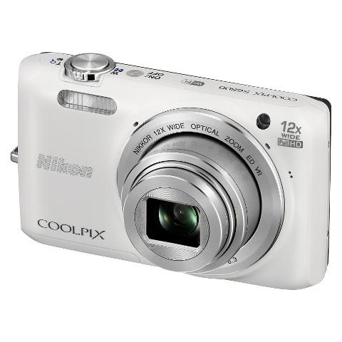 Nikon COOLPIX S6800 16MP Digital Camera with 12x Optical Zoom