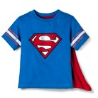 Superman Infant Toddler Boys' Short Sleeve Cape Tee