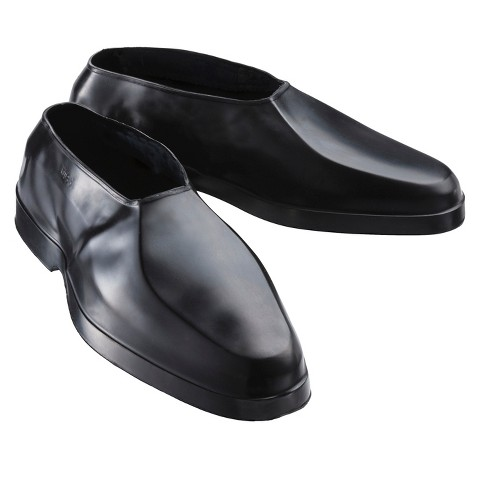 Men's Totes Rain Overshoes - Black