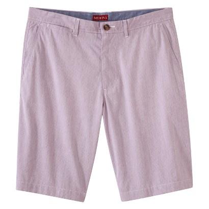 Merona® Men's Club Chino Shorts - Red/White/Blue Pincord