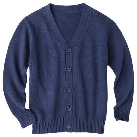 Cherokee® Boys' School Uniform Button Down Cardigan