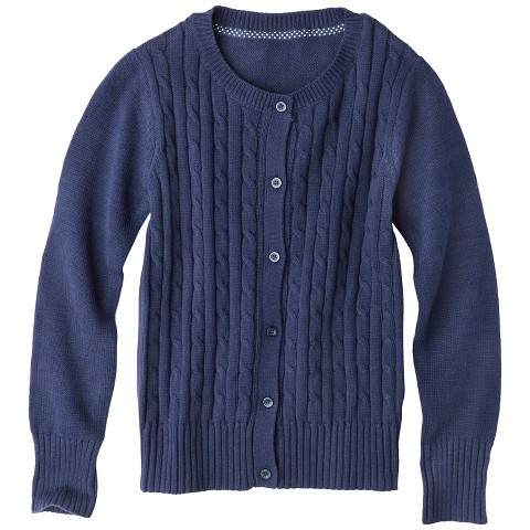 Girls' Cable Cardigan - Cherokee®