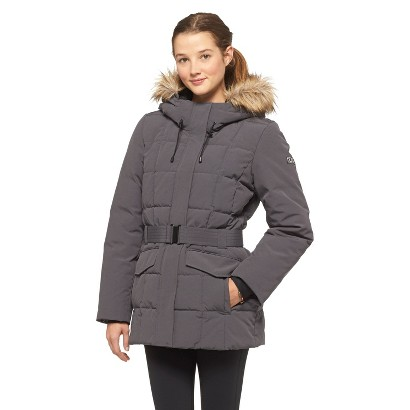 Women's Belted Puffer Jacket - Rivers Edge