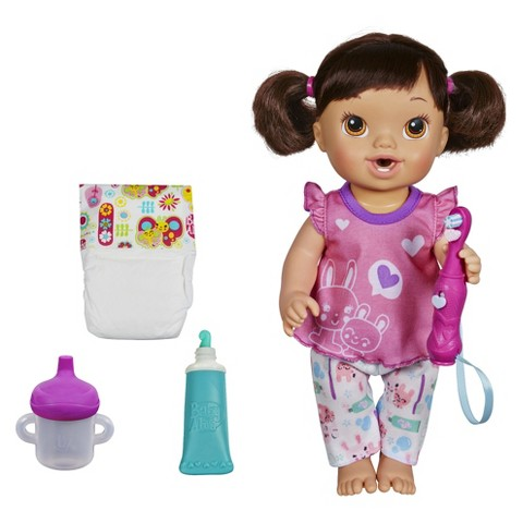 baby alive brushy brushy baby doll target. Black Bedroom Furniture Sets. Home Design Ideas