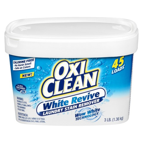 OxiClean™ White Revive Laundry Stain Remover - 45 Loads (3 lb)